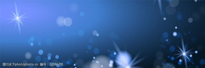 藍色氣泡背景模板