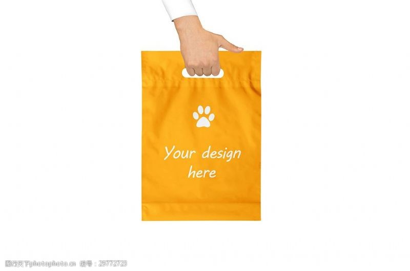 手袋手包拎帶VI包裝樣機展示