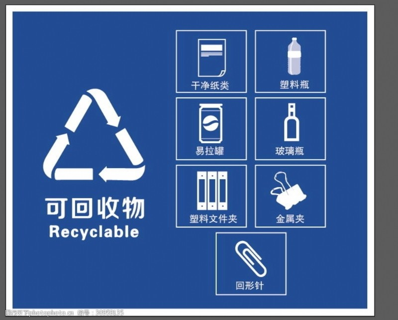 可回收其他垃圾标志