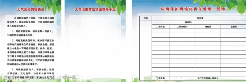 環境污染網格責任表
