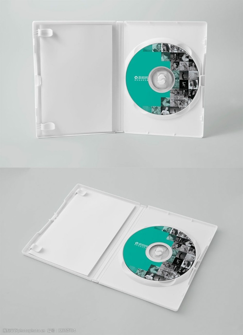 CD包裝樣機展示
