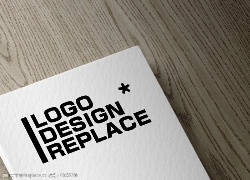 名片Logo樣機貼圖