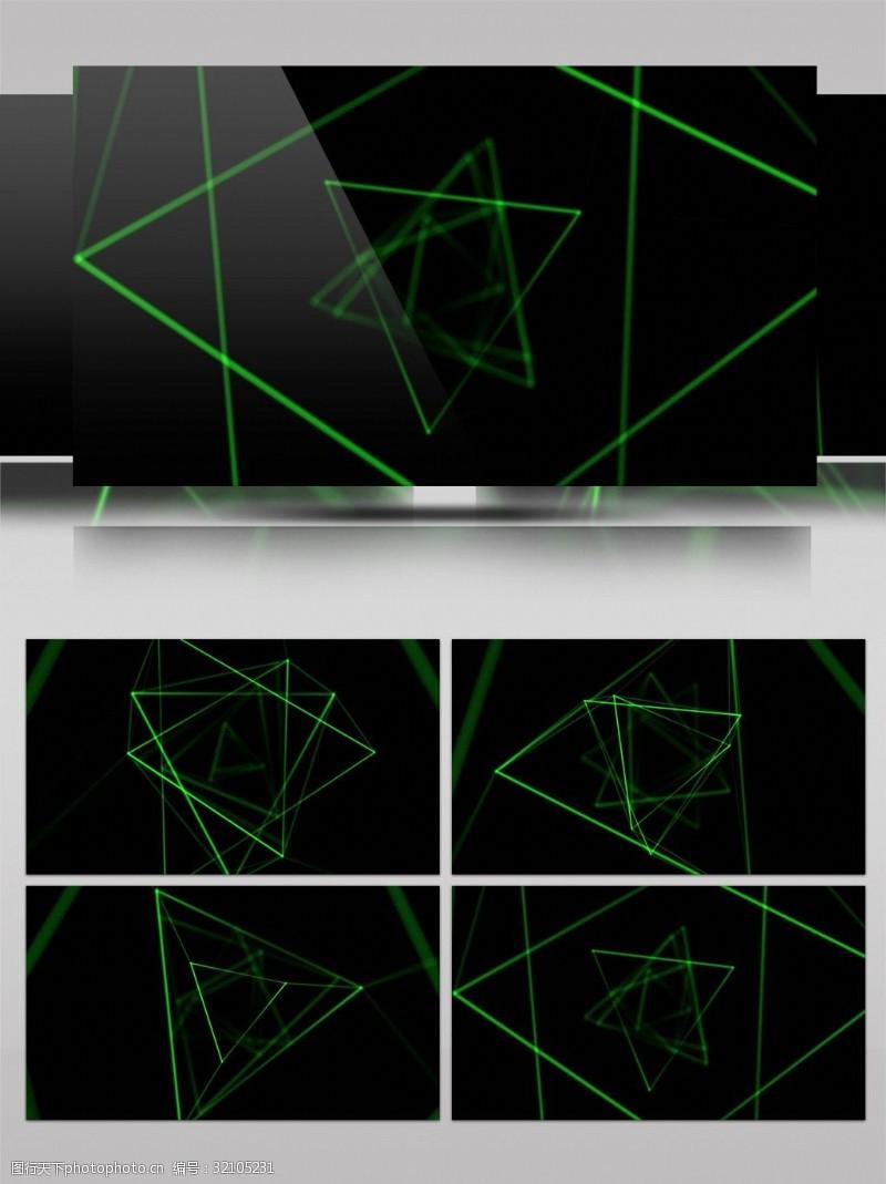 4K科幻夜店背景视频素材模板