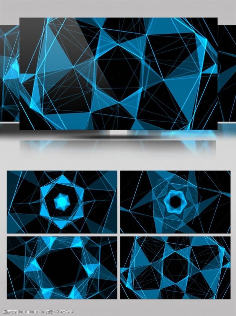 4K科技风格舞台背景视频素材
