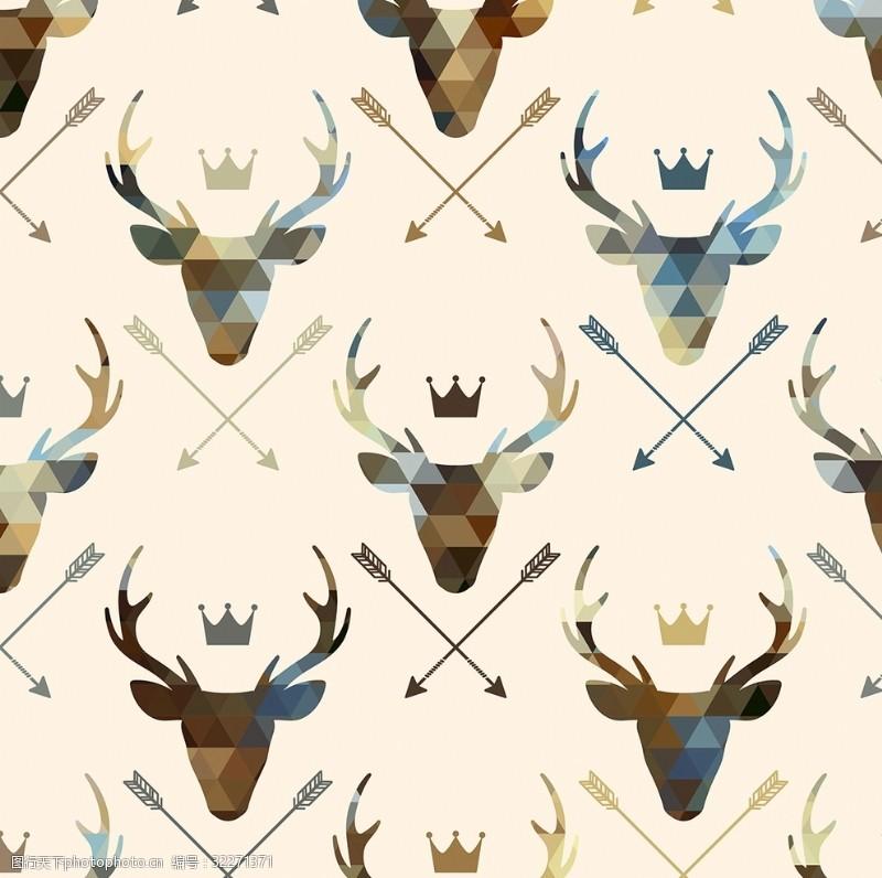 四方连续鹿