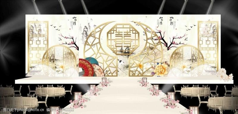 新中式婚禮設計