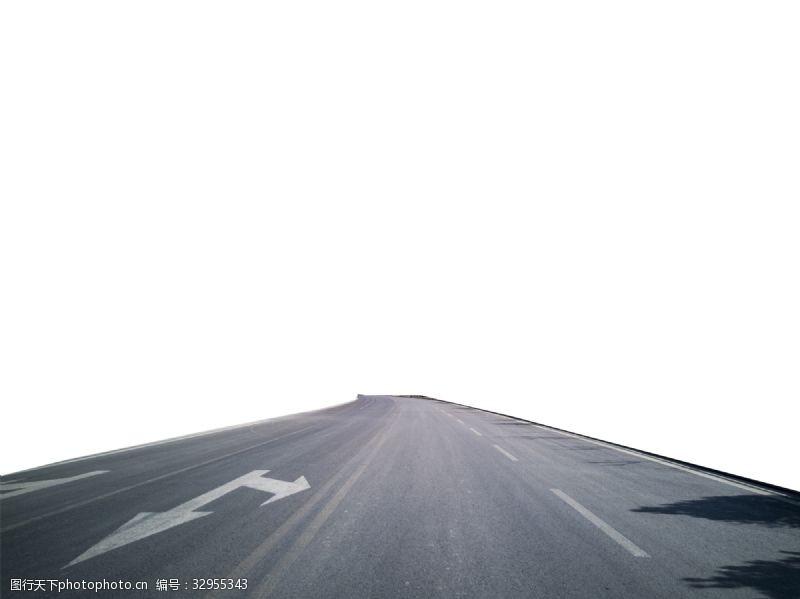 寬敞的道路柏油路