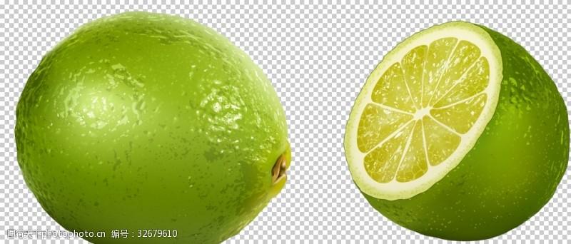青柠檬背景