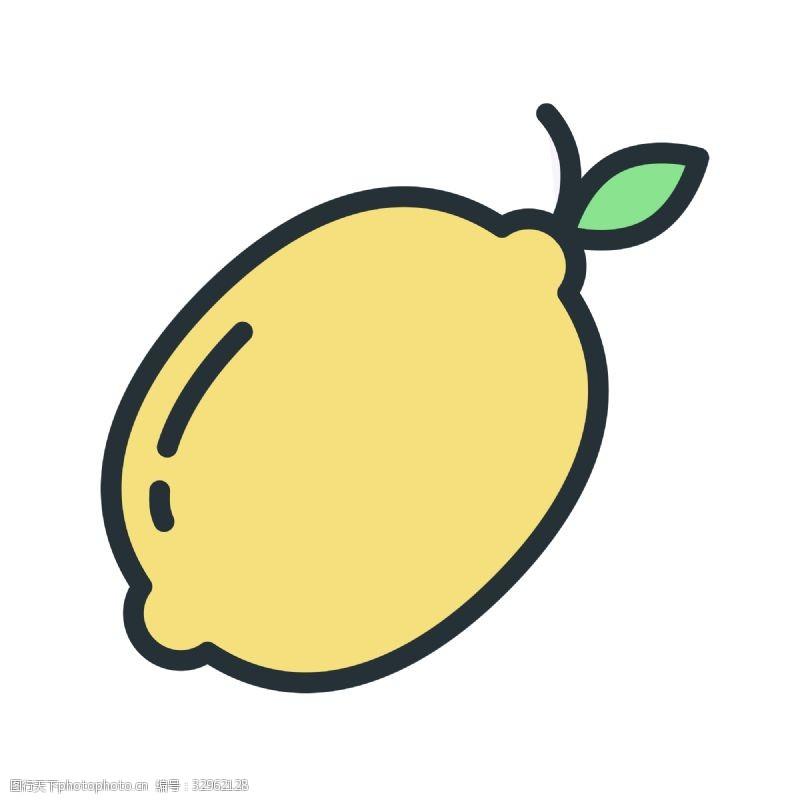 卡通柠檬手抄报