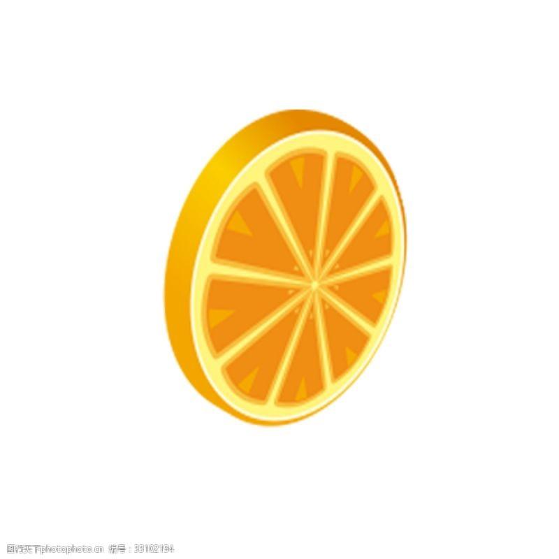 卡通柠檬片