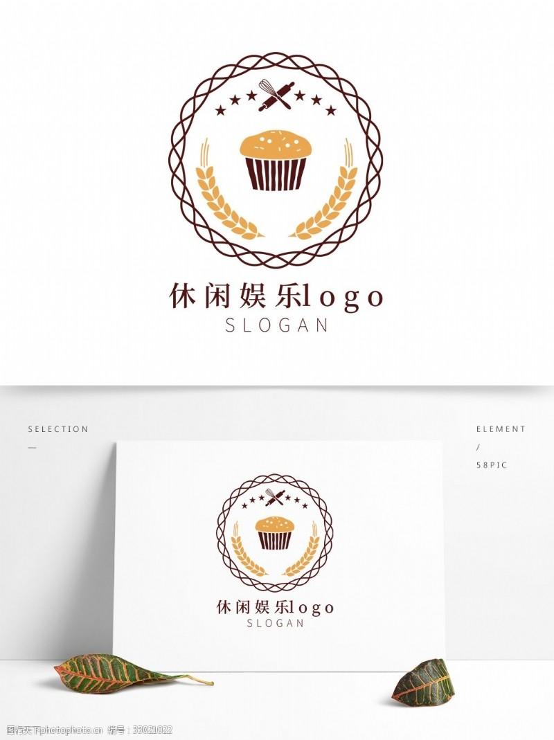 蛋糕下午茶休閑娛樂logo