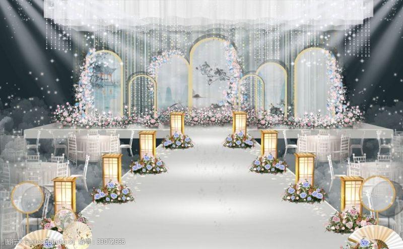 新中式婚禮廣告
