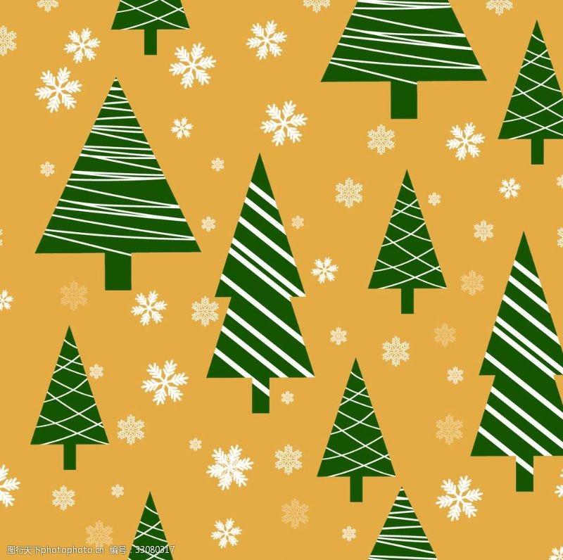 雪花圣誕樹