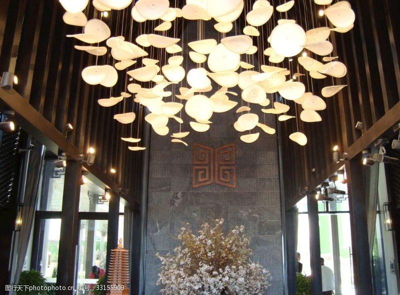 中式售樓處