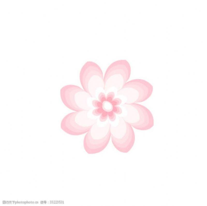 可爱年轻小花朵