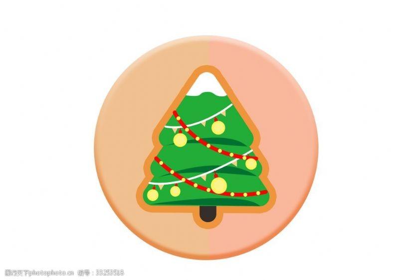 圣誕樹圖標