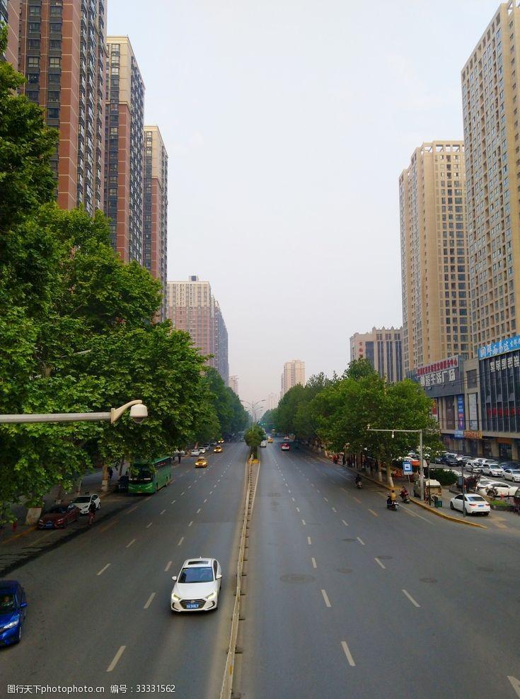 城市高樓風景