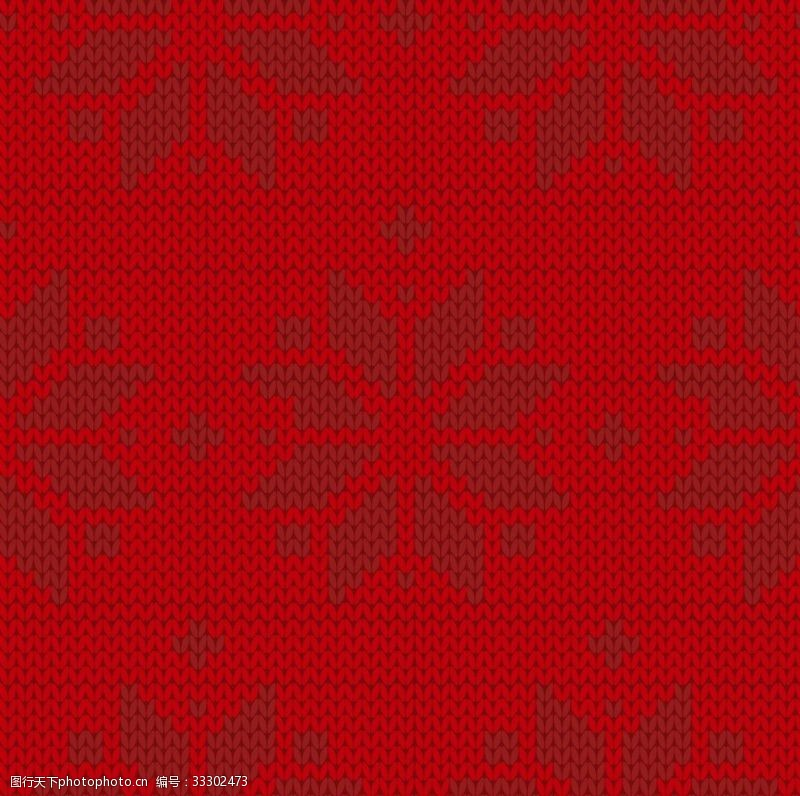 雪花針織印花