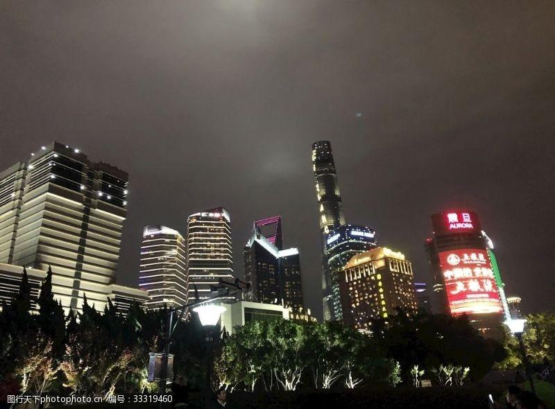 上海高樓夜景