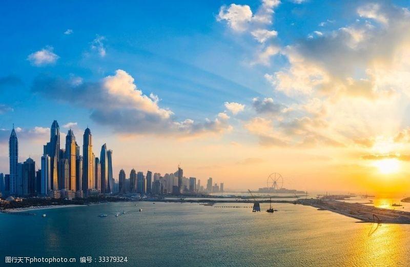 城市的高樓大廈
