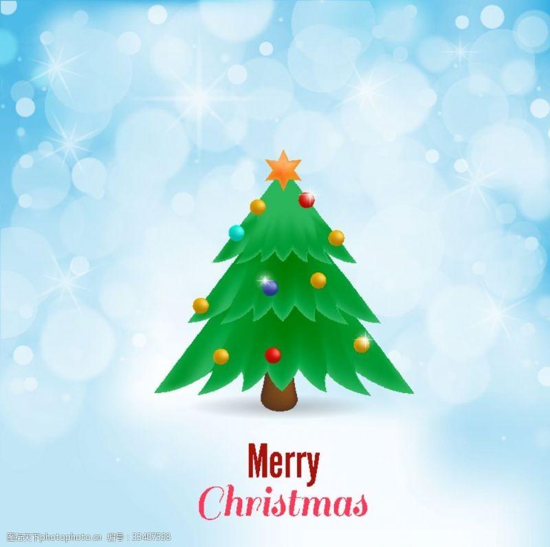 圣誕樹背景