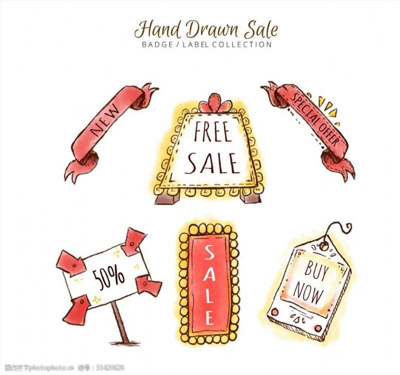 彩繪銷售徽章和吊牌