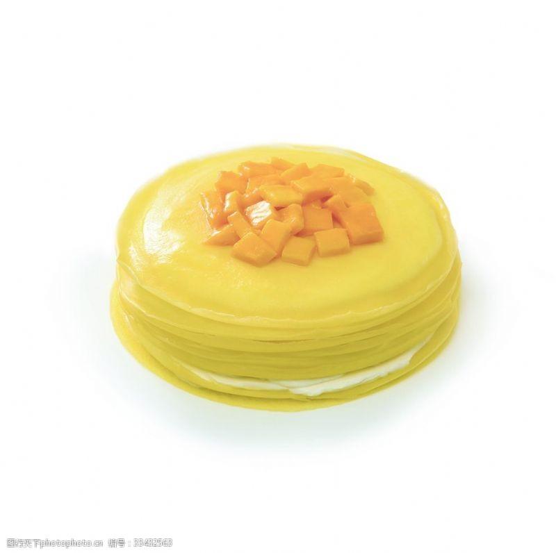 芒果甜品芒果千層蛋糕