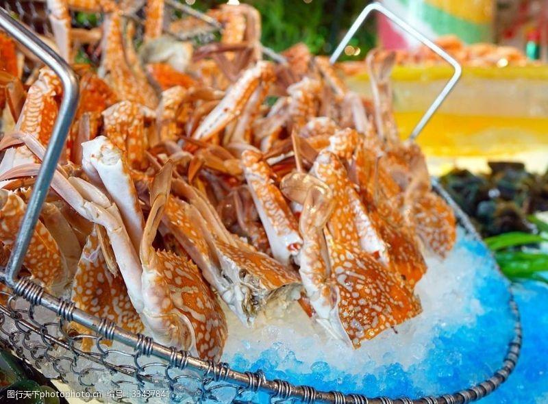 螃蟹手抄報