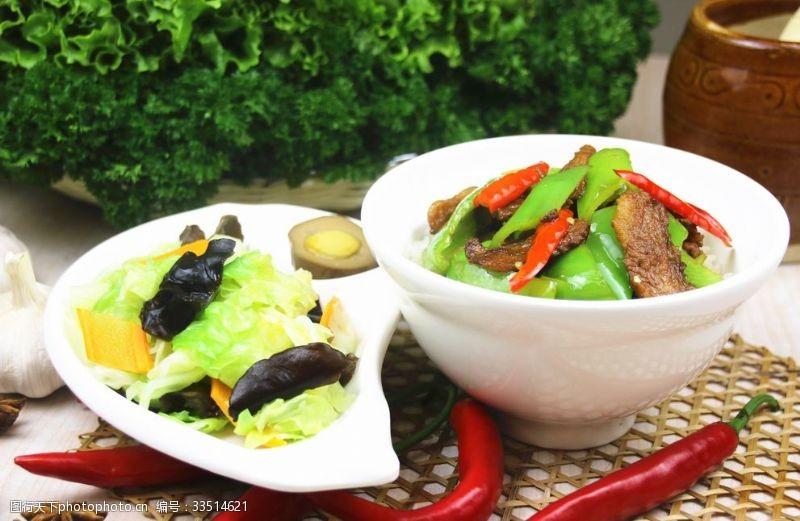 72dpi小炒肉盖饭有配菜