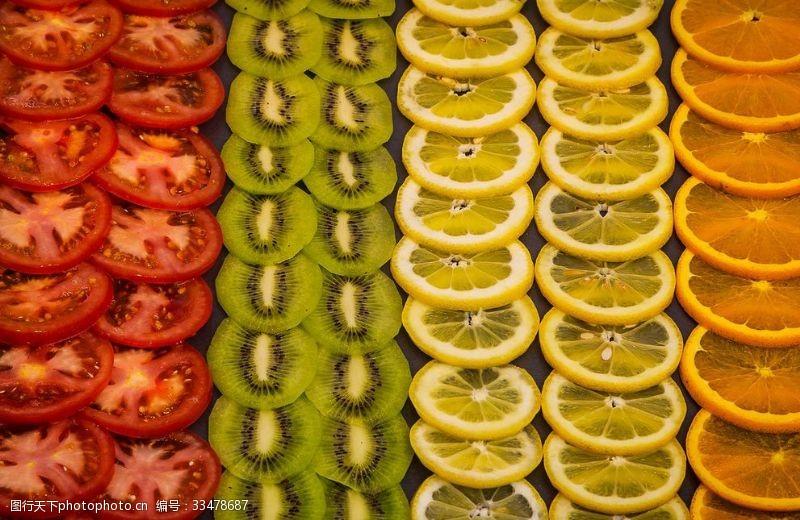 猕猴桃橘子柠檬