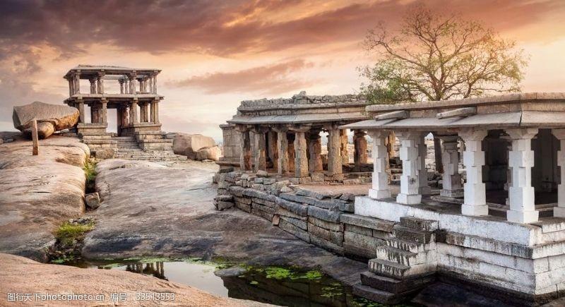 歐美古典風景建筑