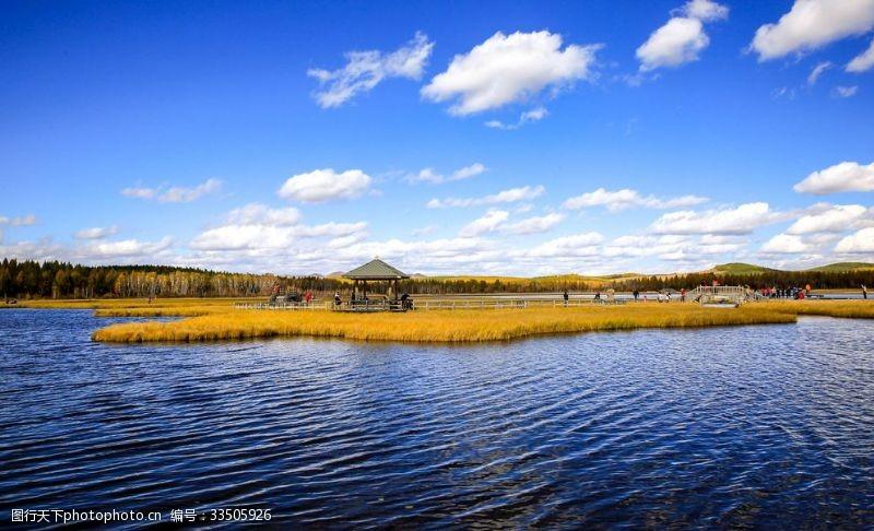 七星湖湿地唯美清新的自然风景
