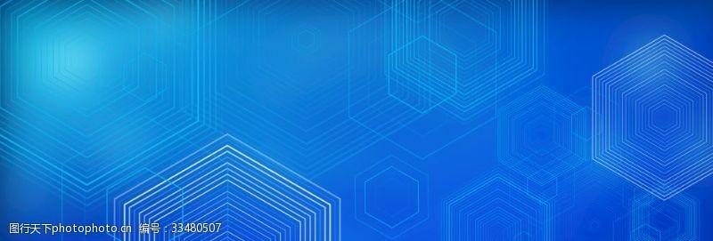 企業展板科技背景