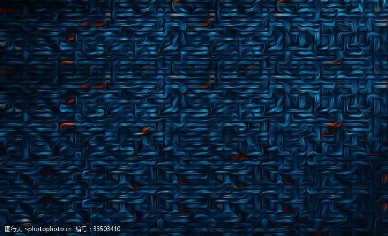 蓝色几何抽象背景