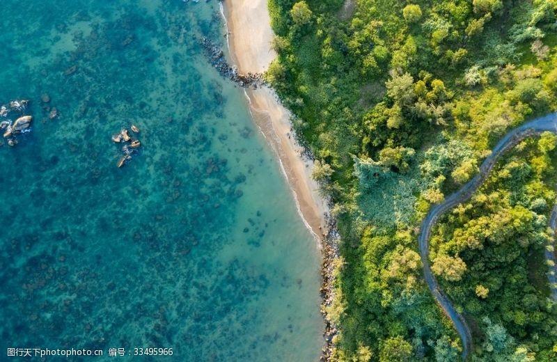 陽光沙灘沙灘海邊海岸線