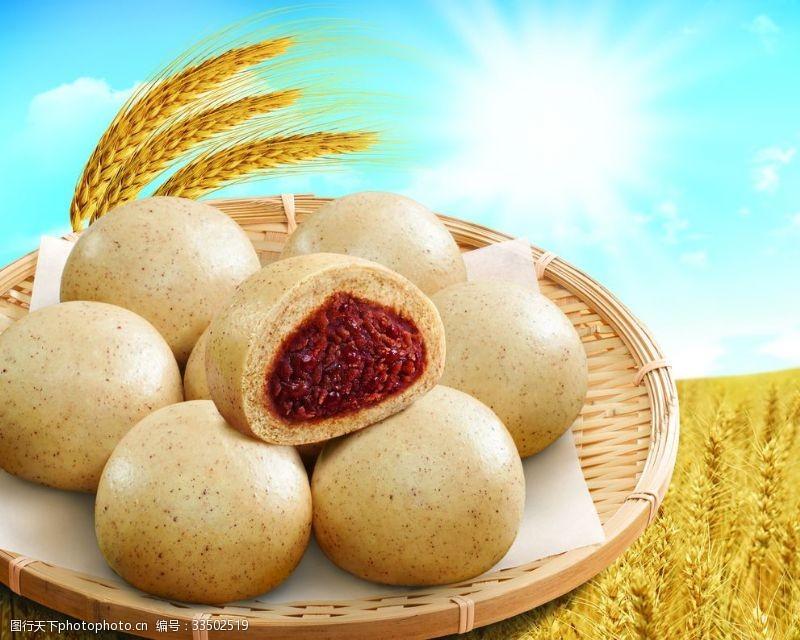水饺薏米红豆包