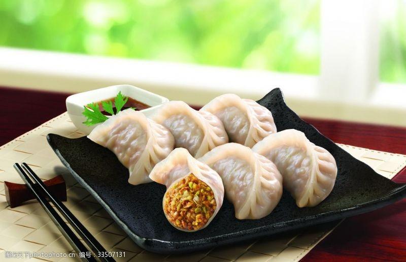 水饺猪肉白菜蒸饺