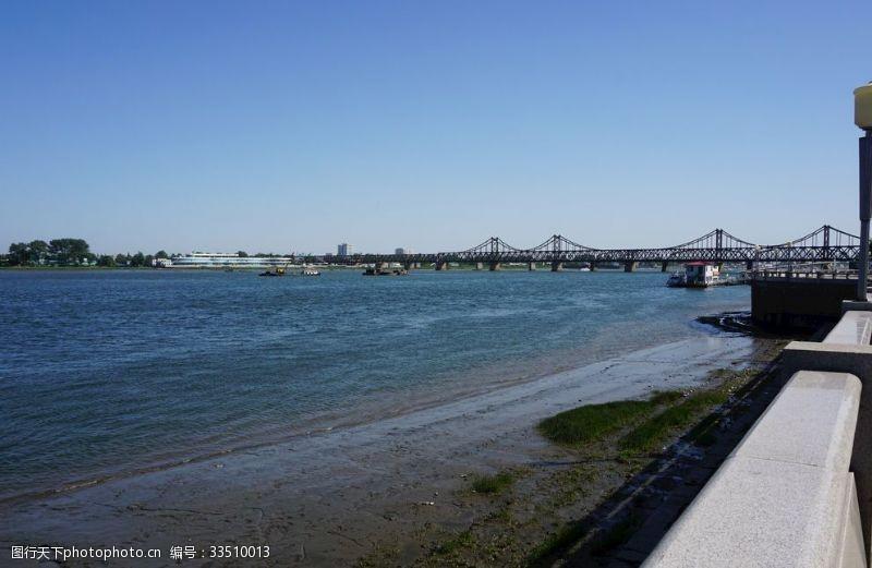 遼寧丹東鴨綠江風景大橋
