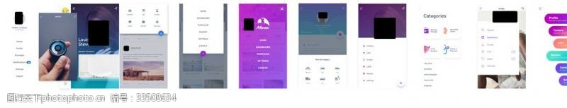 手机APP移动端UI界面设计
