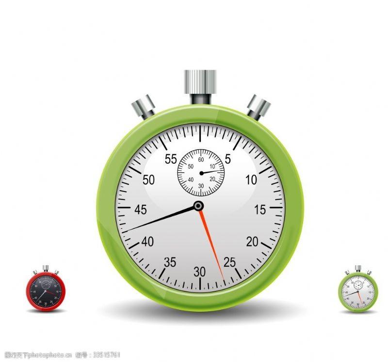 psd分层素材钟表时间怀表秒表