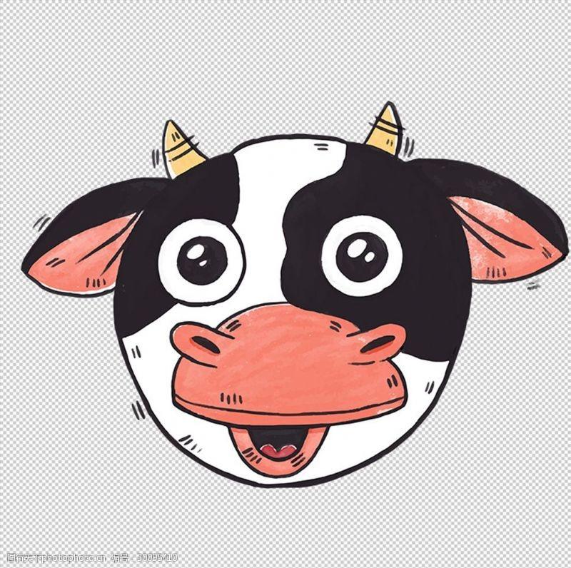 卡通牛相关素材