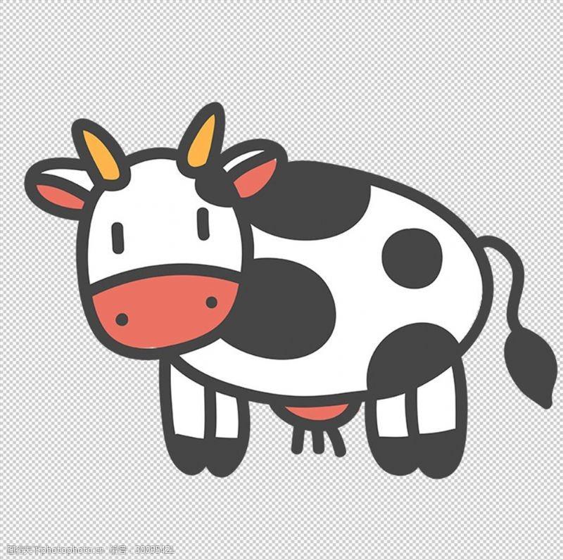 卡通牛相关手抄报