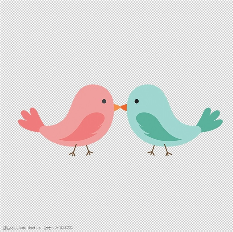 卡通鸟图片卡通鸟