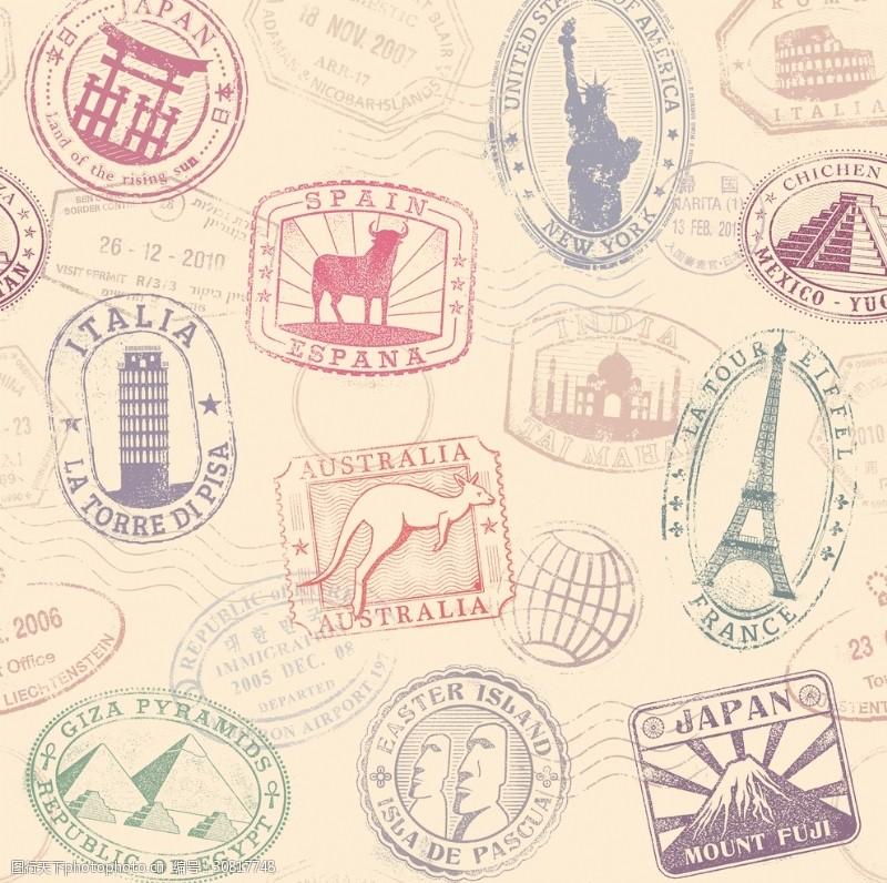 贴膜贴纸邮票