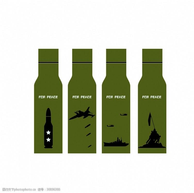 手榴弹-战争题材杯子