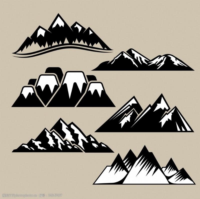 自然探险自然山脉探险