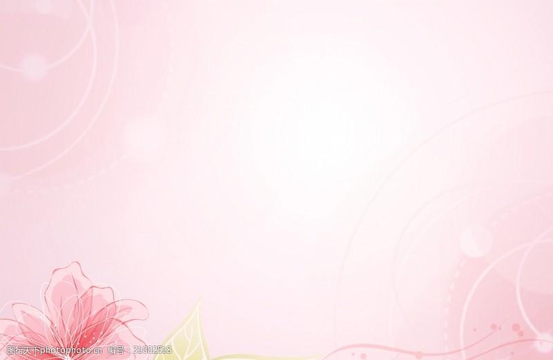 柔和粉色背景粉色背景