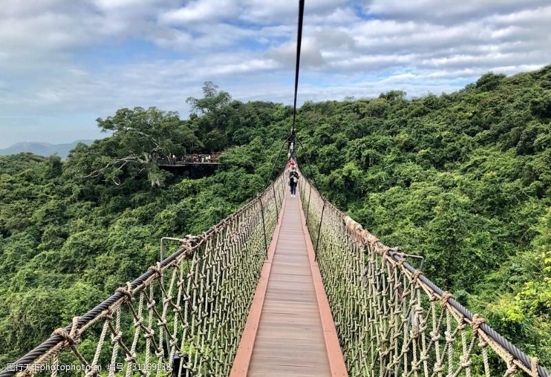 木头桥吊桥