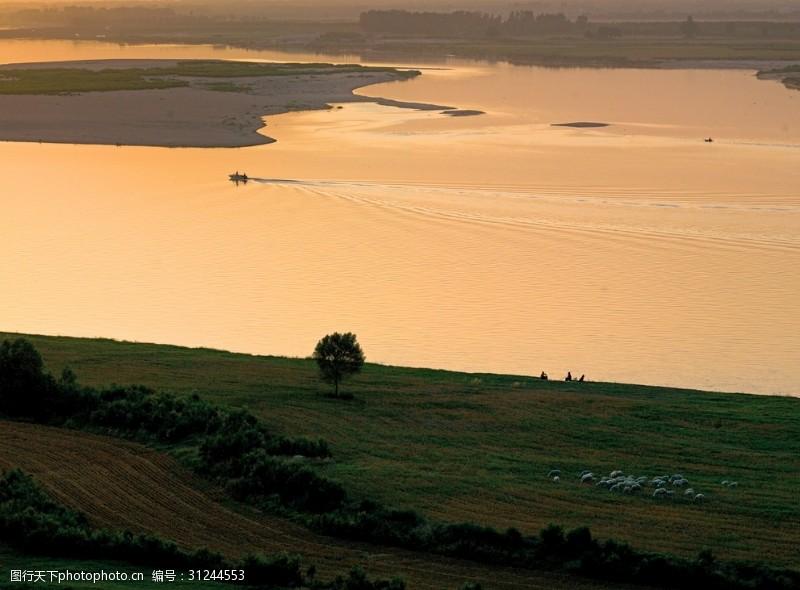 河洛文化黄河河流河南中原生生不
