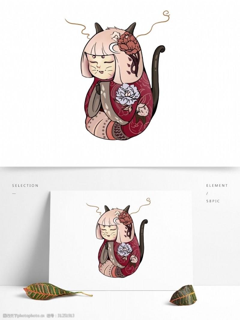 创意猫咪潮漫卡通猫咪设计